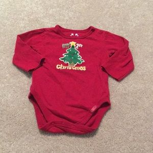 Baby's First Christmas Bodysuit 6-9